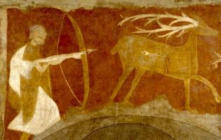 Cacería del Ciervo - Ermita de San Baudelio