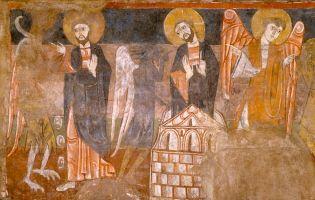 Pinturas ermita de San Baudelio