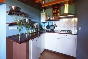Cocina Casa rural la Estación del Río Lobos