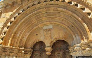 Portada Iglesia Románica de Caltojar