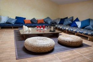 Casa rural con chill out y sala de juegos - La Garrancha