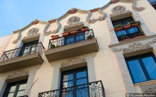 Edificios modernistas Zamora