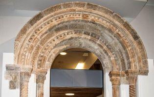 Portada Monasterio de San Pedro de Arlanza - Museo Arqueológico de Madrid