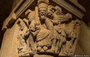 Capitel - Iglesia monasterio de San Juan de Duero