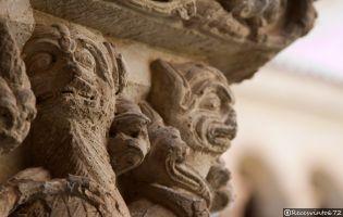 Capitel Monasterio de Santo Domingo de Silos