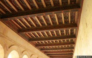 Artesonado - Monasterio de Santo Domingo de Silos