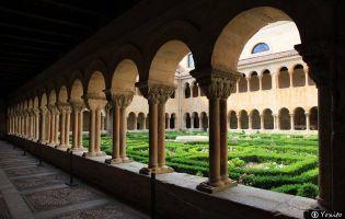 Claustro romanico Monasterio de Santo domingo de Silos