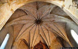 Bóveda Monasterio de Oña
