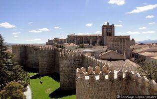 Muralla de Ávila y Catedral de Ávila