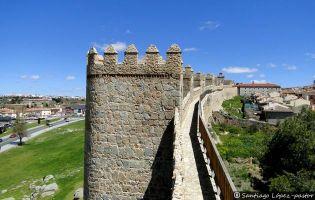 Adarve - Muralla de Ávila