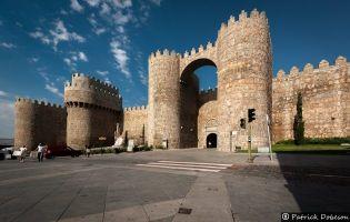 Puerta del Alcázar - Muralla de Ávila