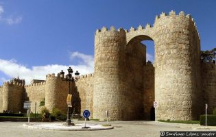Puerta de San Vicente - Muralla de Ávila