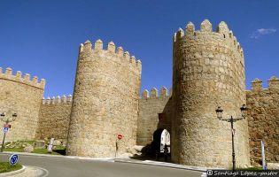 Puerta del Puente - Muralla de Ávila