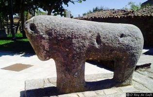 Toro prerromano - Villardiegua de la Ribera