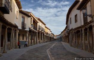 Calle porticada - Ampudia