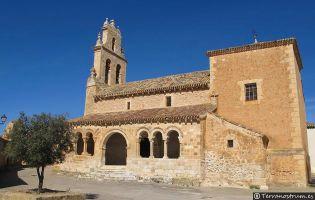 Iglesia románica de San Ginés - Rejas de San Esteban