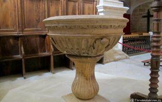 Pila bautismal - Iglesia de Vadocondes