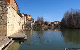 Río Duero y embarcadero - Vadocondes