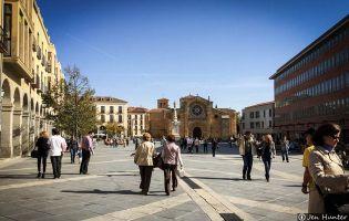 El Románico en Ávila - Alrededores del Mercado Grande