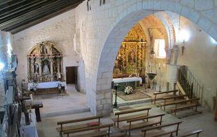 Interior Iglesia de San Pedro - Bocigas de Perales