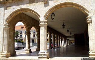 Soportales Plaza Mayor - Medina de Rioseco