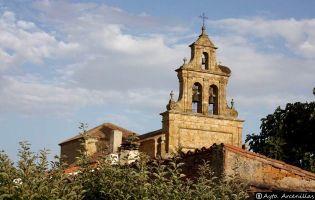 Espadaña Iglesia de Arcenillas