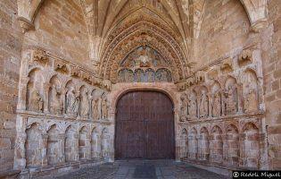 Portico Iglesia de la Hiniesta.