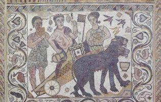 Mosaico - Villa Romana de Santa Cruz