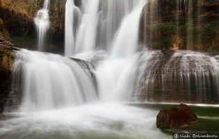 Parajes con encanto en Burgos - Cascada de Peñaladros