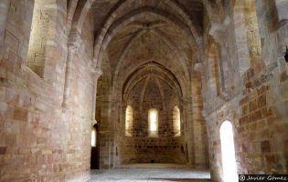 Nave central Monasterio de Bujedo de Juarros