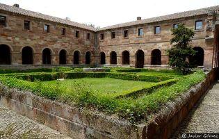 Claustro Monasterio de Bujedo de Juarros