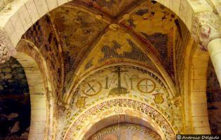 Interior Iglesia de San Andrés - Tabliega