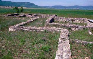 Restos de la Villa romana de Casarejos - San Martín de Losa