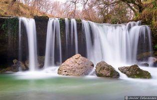 Río Ayuda en Sáseta - Condado de Treviño