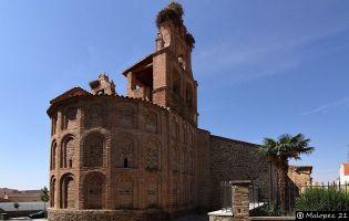 Ábside Iglesia de Santiago - Alba de Tormes