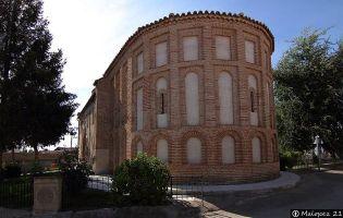 Ábside Iglesia de San Juan - Coca de Alba