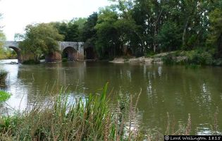 Puente sobre el Pisuerga - Quintana del Puente