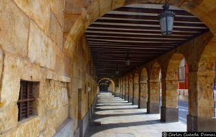 Soportales Salamanca.
