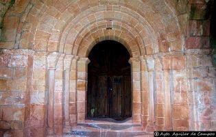 Portada Iglesia de San Esteban - Lomilla