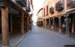 Calle con soportales - Medina de Rioseco