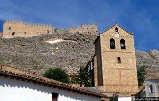 Iglesia y Castillo de Cihuela