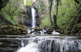 Cascada de las Pisas
