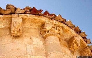 Canecillos iglesia de Incinillas