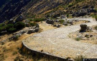 Calzada romana - Puerto del Pico