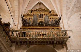 Órgano - Monasterio Santa María de Huerta