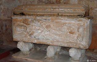 Sepúlcro - Monasterio Santa María de Huerta