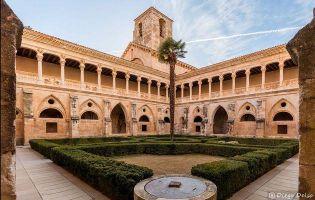claustro - Monasterio Santa María de Huerta