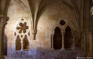Claustro de los Caballeros - Monasterio Santa María de Huerta