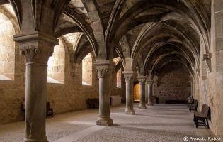 Refectorio de los Conversos - Monasterio Santa María de Huerta