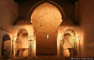 Interior Iglesia San Juan de Duero | Soria
